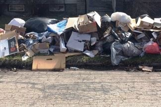 Picture of trash pile
